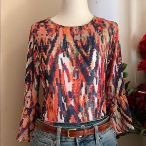 The Limited Multi-Colored Blouse NWOT
